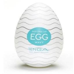 Tenga Egg Wavy - Masturbador Masculino