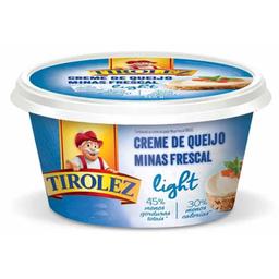 Creme Queijo Minas Frescal Light Tirolez 200 G