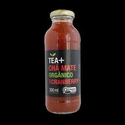Tea Mais Chá Mate Orgânico com Cranberry - 300ml