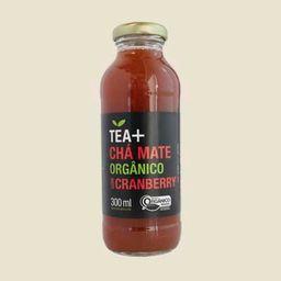 Tea + Chá Mate Orgânico Com Cranberry - 300ml
