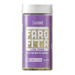 Farofa Amendoin Snackout  Cebola E Alho 220 G