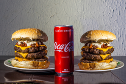 Combo 2 Big Dias Burguer + Coca-Cola Lata