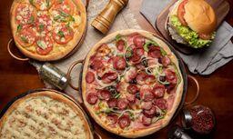 Pizza Média Meio A Meio