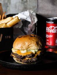 Cheese Burger Smash Duplo
