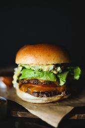 Salad Burger Smash Duplo