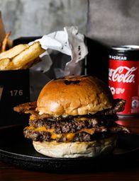 Bacon Burger Smash Duplo