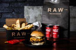Combo Raw Onion Burger