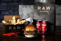 Combo Raw Bacon Burger