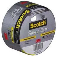 Fita Silver Tape 45Mmx5M Scotch 3M - Cód.1092413