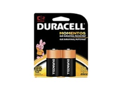 Pilha C Alcalina Ct2 Duracell - Cód.571920
