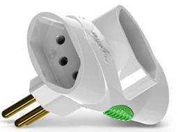 Plug Te 3 Saida 2P+T 10A Branco 1676 Da - Cód.3515737
