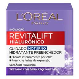 Loreal Revitalift Hialurônico Noturno 50 Ml
