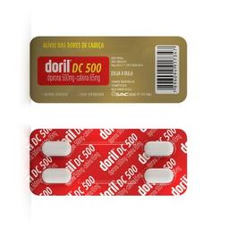 Leve 3 Pague 2 Doril Dc 500 mg 100 Comprimidos