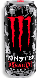 Energético Monster Assault Lata 473 mL