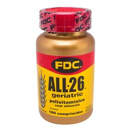 Kit Fdc All 26 geriatric 50 Descova Segunda Unid 100 Comprimidos