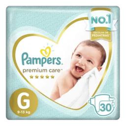 Fraldas Pampers Premium Care G 30 Und