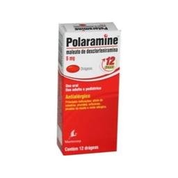 Polaramine 6 mg 12 Comprimidos