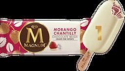 Sorvete Magnum Morango Chantilly