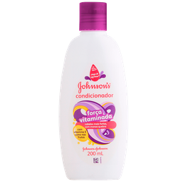 Condicionador Johnson's Força Vitaminada 200 mL