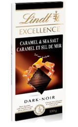 Chocolate Francês Lindt Excellence Caramelo Sea S