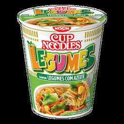 Cup Noodles Nissin Legumes Com Azeite 67 g