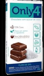 Chocolate Only4 Flor De Sal 80 g