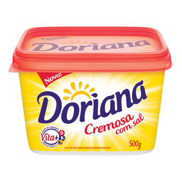 Margarina Cremosa Com Sal Doriana