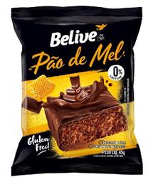 Pão De Mel Sem Glúten Sem Lactose Belive 45 g
