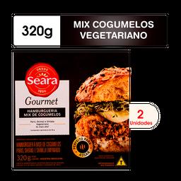 Hambúrguer Seara Gourmet Mix De Cogumelos 320G