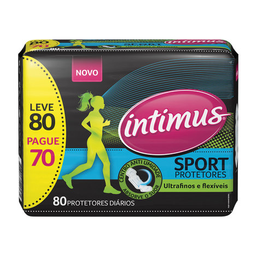 Protetor Diário Intimus Sport 80 Und