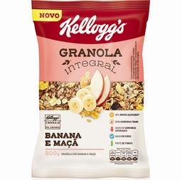 Granola Kellogg's Banana Maçã 200 g