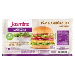Pão Jasmine Hambúrguer Original Sem Glúten