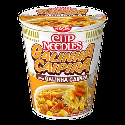 Macarrão Nissin Cup Noodles Galinha Caipira 69 g