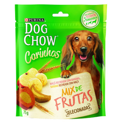 Petisco Dog Chow Carinhos Para Cães Adultos E Filhotes Sabor Maç