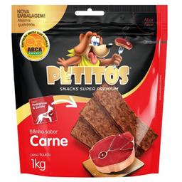 Petitos Snack Para Cães Bifinho Sabor Carne