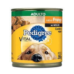 Ração Úmida Pedigree Lata Vital Pro Para Cães Adultos Sabor Fran