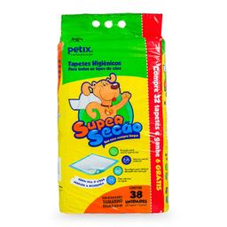 Super Secão Tapete Higiênico Para Cachorro 38 Und