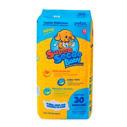 Tapete Higiênico Super Secão Baby Petix Para Cães 30 Und