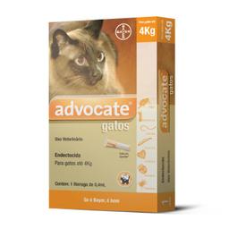Antipulgas Advocate Para Gatos De Até 4 Kg 0,4 mL