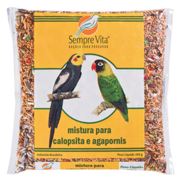 Ração Sempre Vita Calopsitas E Agapornis 500 g