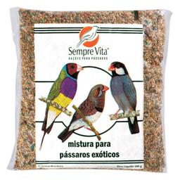 Ração Sempre Vita Pássaros Exóticos 500 g