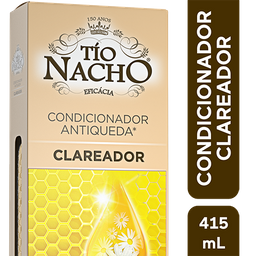 Condicionador Antiqueda Clareador Tio Nacho, 415Ml