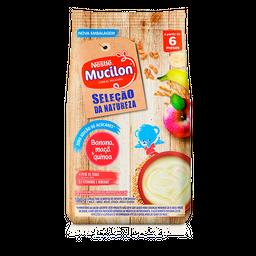 Cereal Infantil MUCILON banana, maça, quinoa 180g