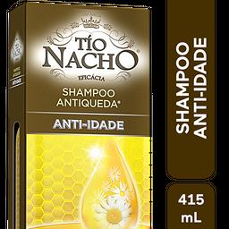 Shampoo Antiqueda Antiidade Tio Nacho, 415Ml