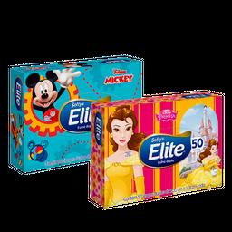 Lenço De Papel Elite Softy'S Kids Máxima Suav 50 Fls