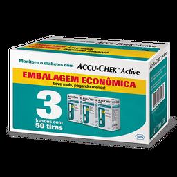 Tiras Accu-Chek Active 3 Caixas 50 Und
