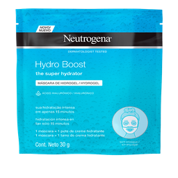 Máscara Facial Hydrogel Neutrogena Hydro Boost 30 g