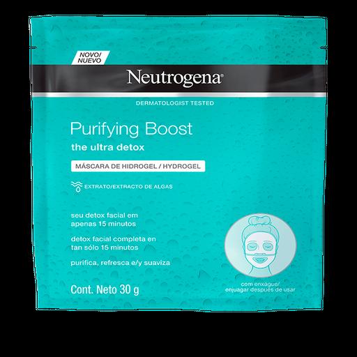 Máscara Facial Hydrogel Neutrogena Purifying Boost 30 g