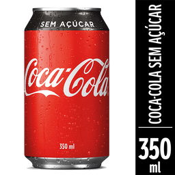 Coca-Cola - Sem Açúcar 350ml