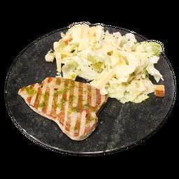 Grelhado com Salada Caesar da Casa